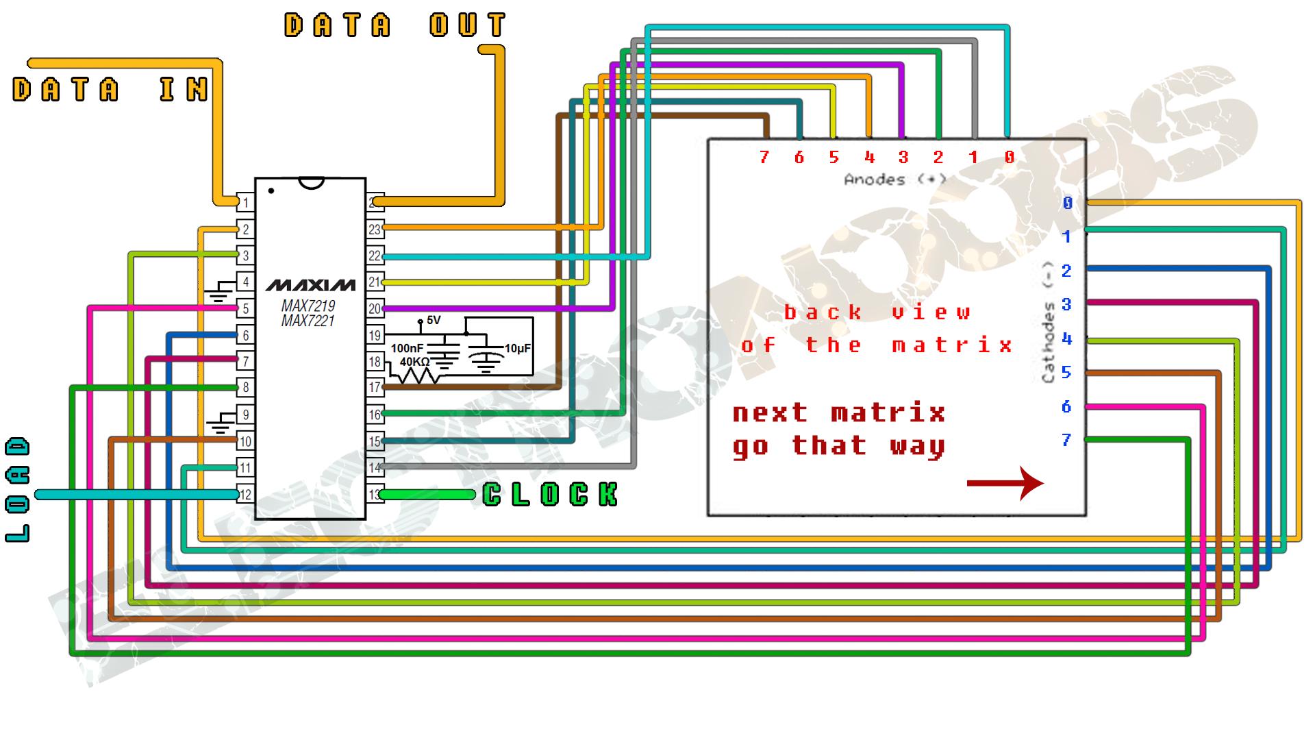 Arduino Bluetooth Led Matrix Max7219 64 Et Wiring Diagram