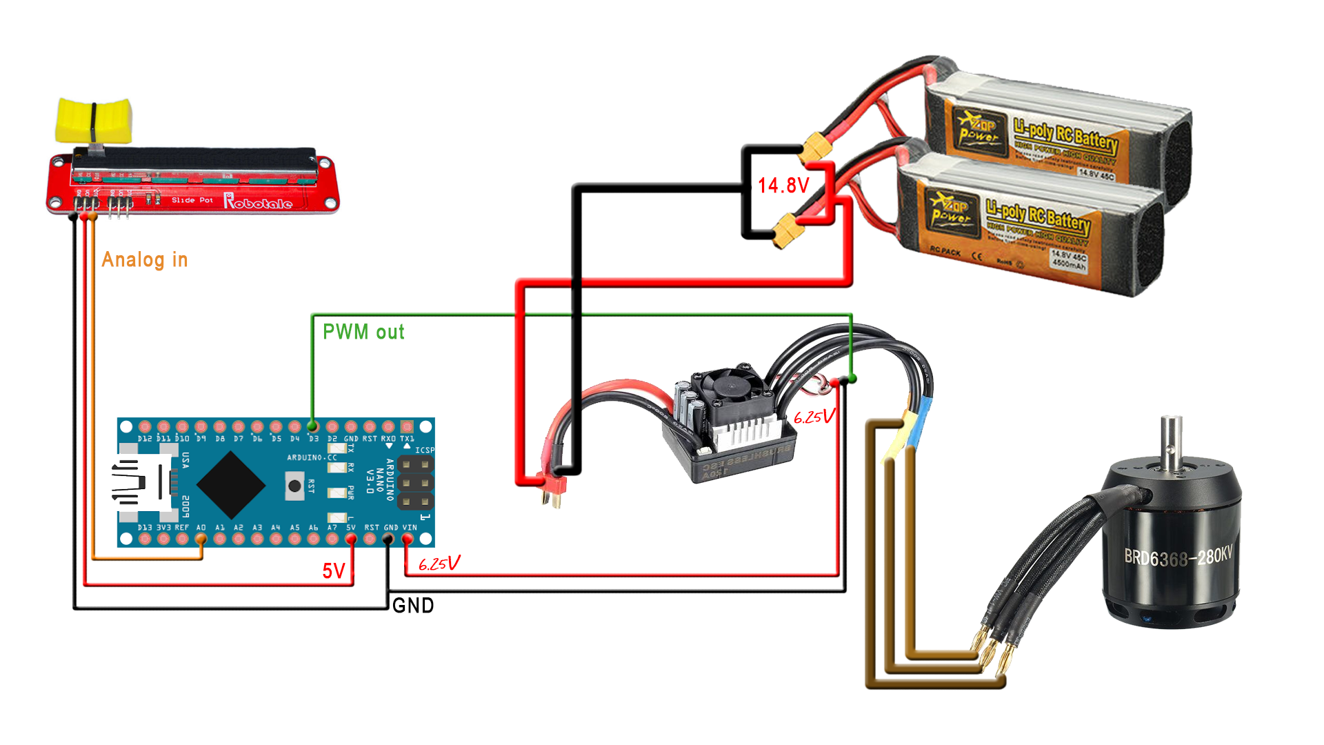 Electric Scooter Schematic Explained Wiring Diagrams Satellite Razor Diagram 12v Homemade Brushless Arduino Diy 24 Volt
