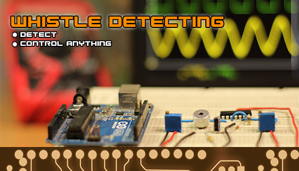 whistle detect circuit arduino switch