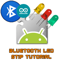 bluetooth arduino LED strip AppInventor