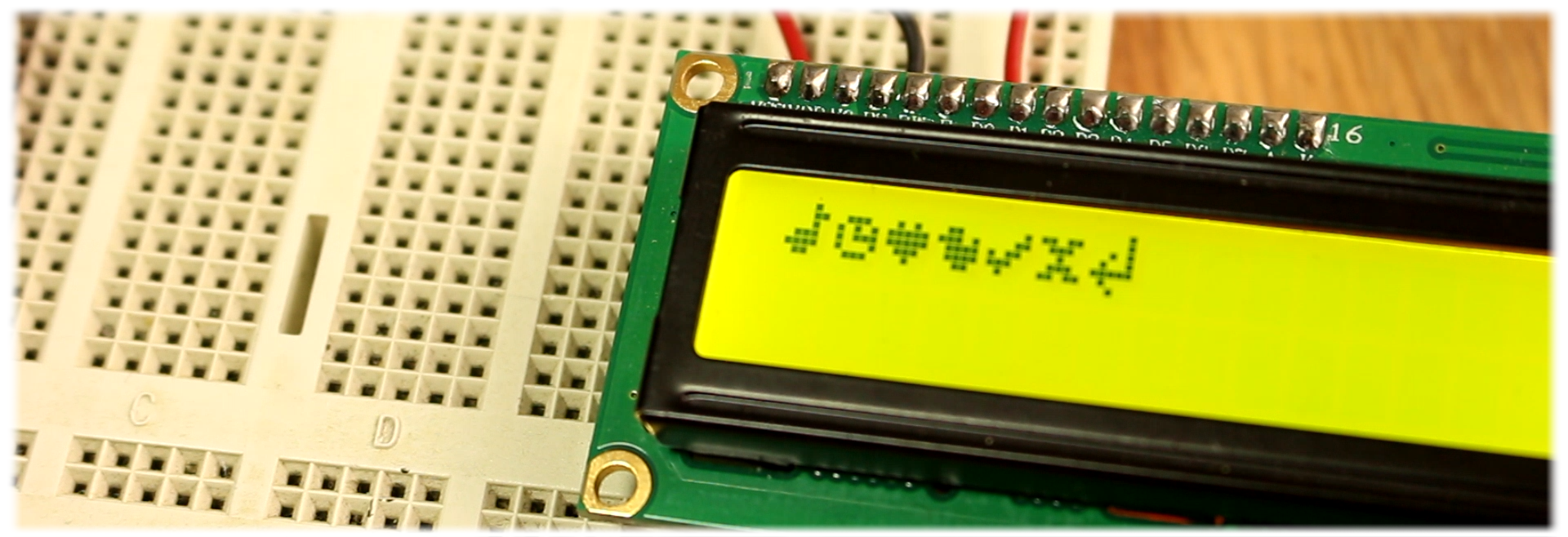 lcd special character Arduino