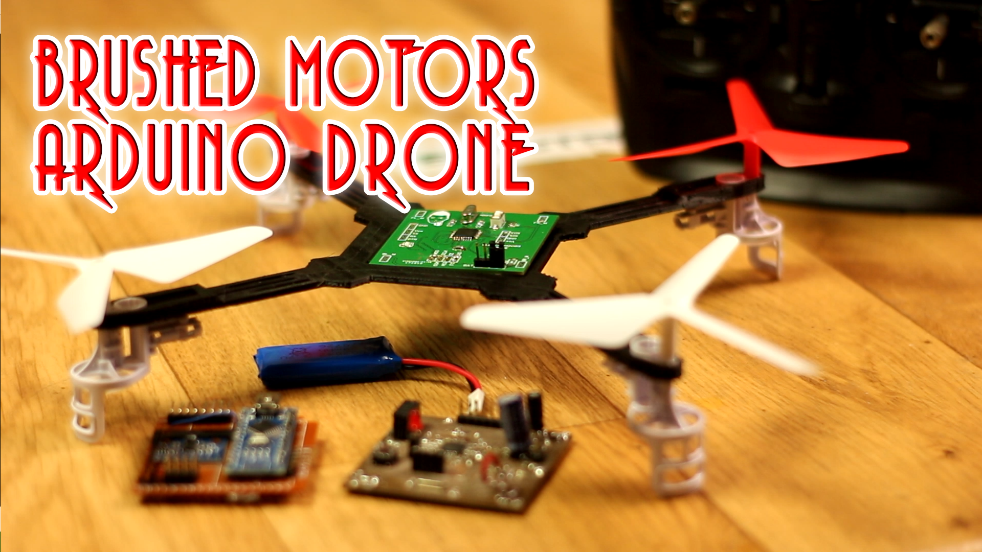 arduino drone brushed DC motors
