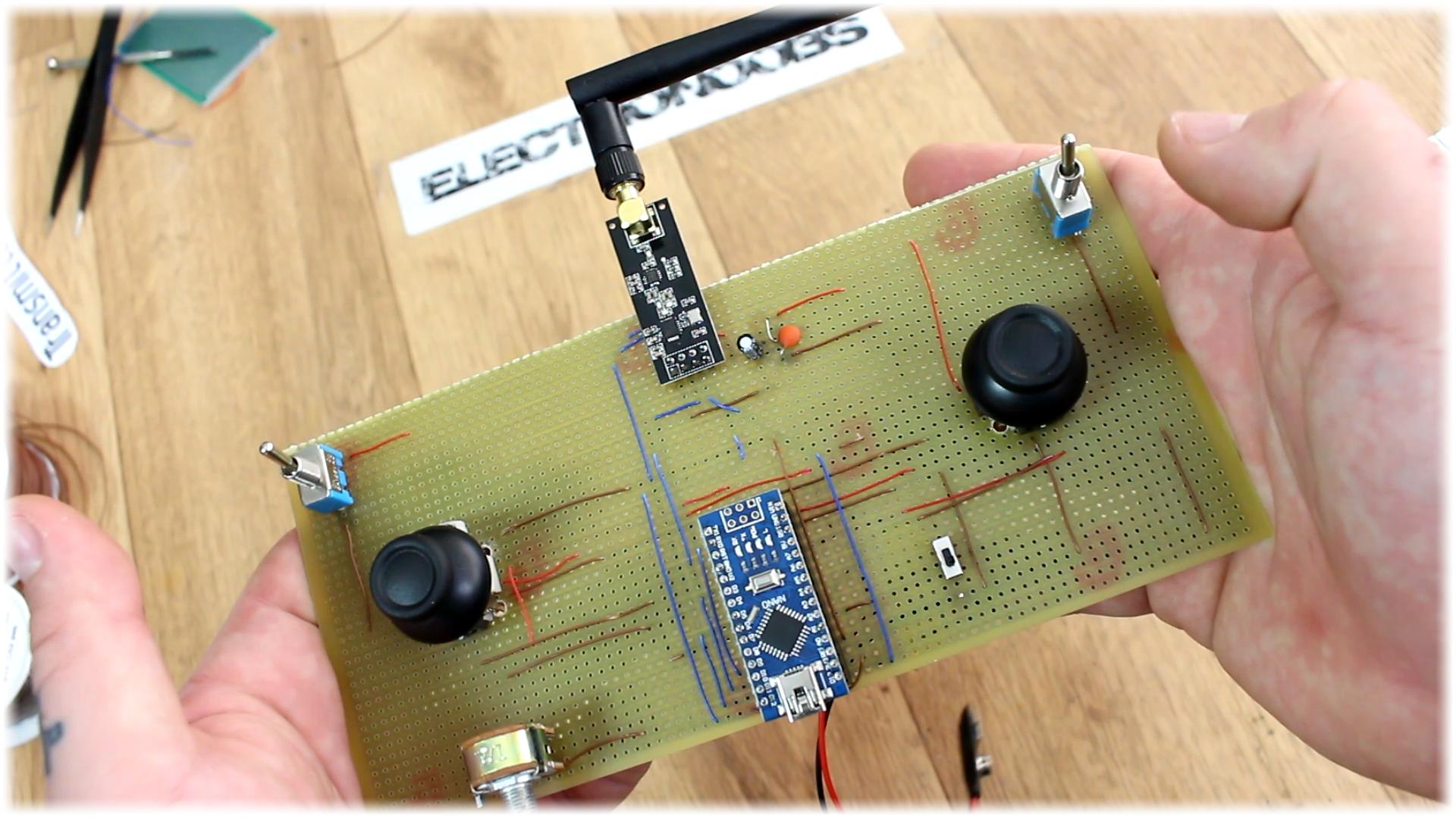 Arduino Radio Controller Diy Nrf24 Rf Transmitter Circuit