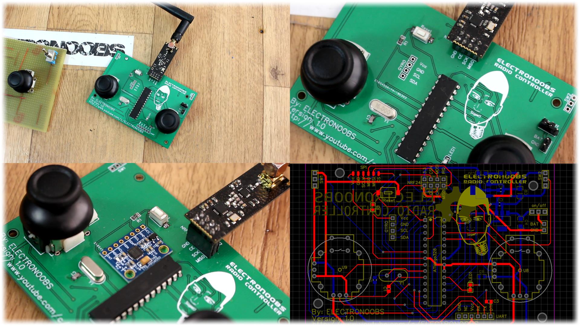 Arduino Radio Controller Diy Nrf24 Making A Circuit Board From Scratch Youtube Transmitter