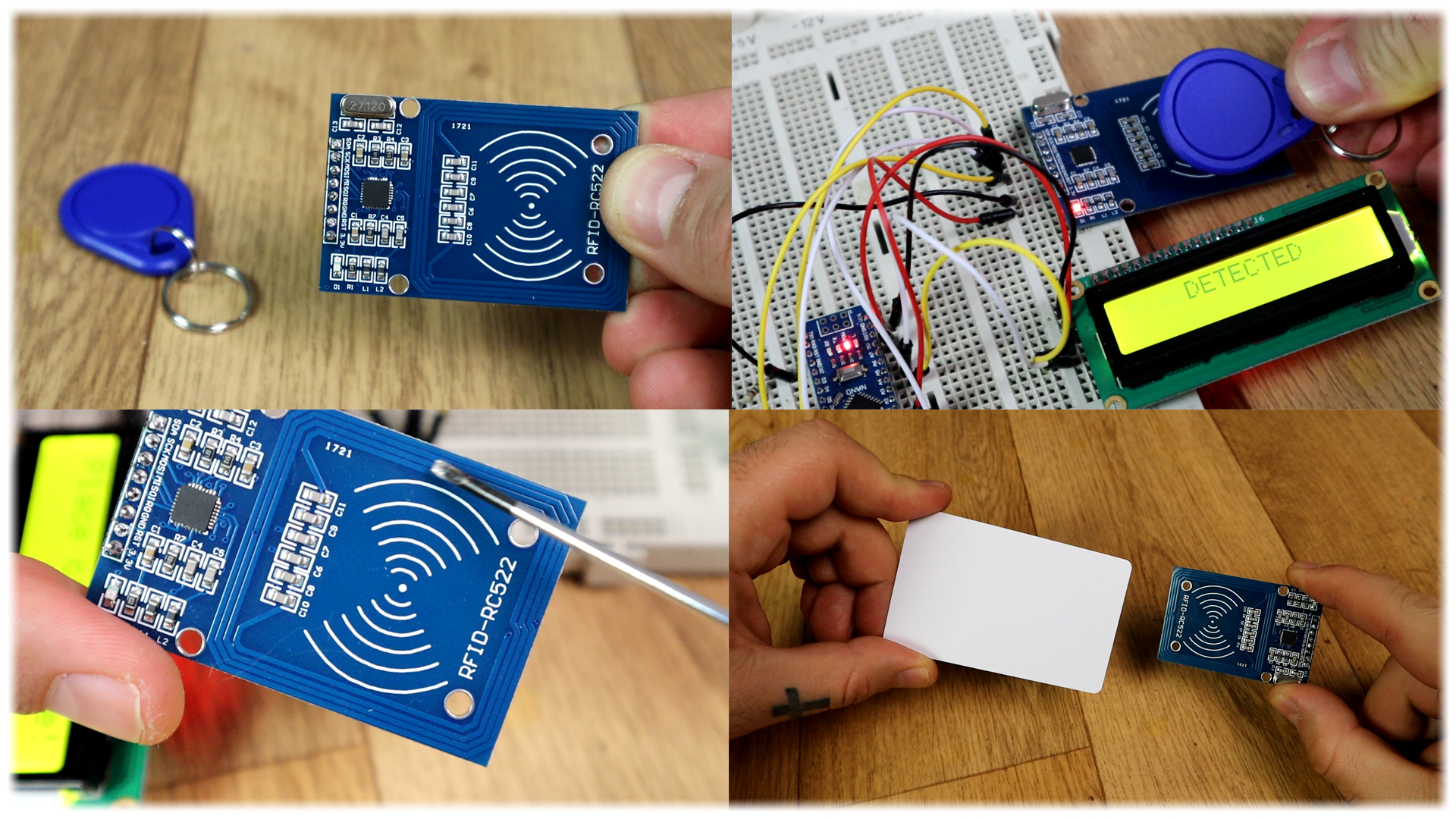 RFID arduino door lock