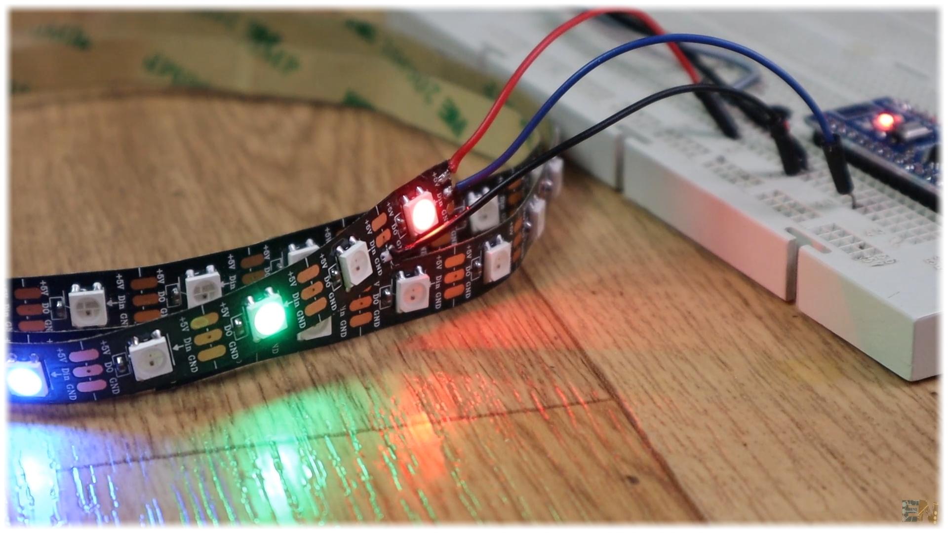 DIY Arduino AMBILIGHT adalight perismatic