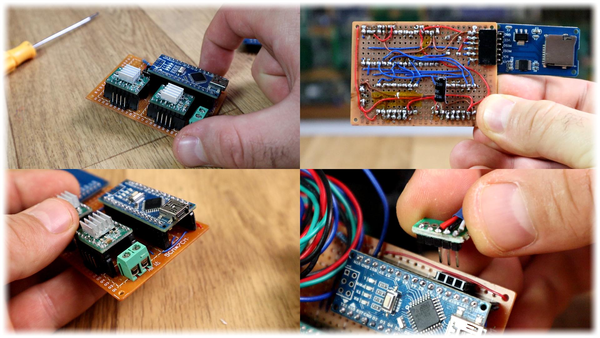 Arduino 3D scanner