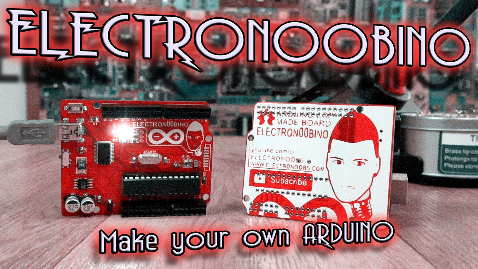 Electronoobino Make Your Arduino Uno Board Own Circuit Images