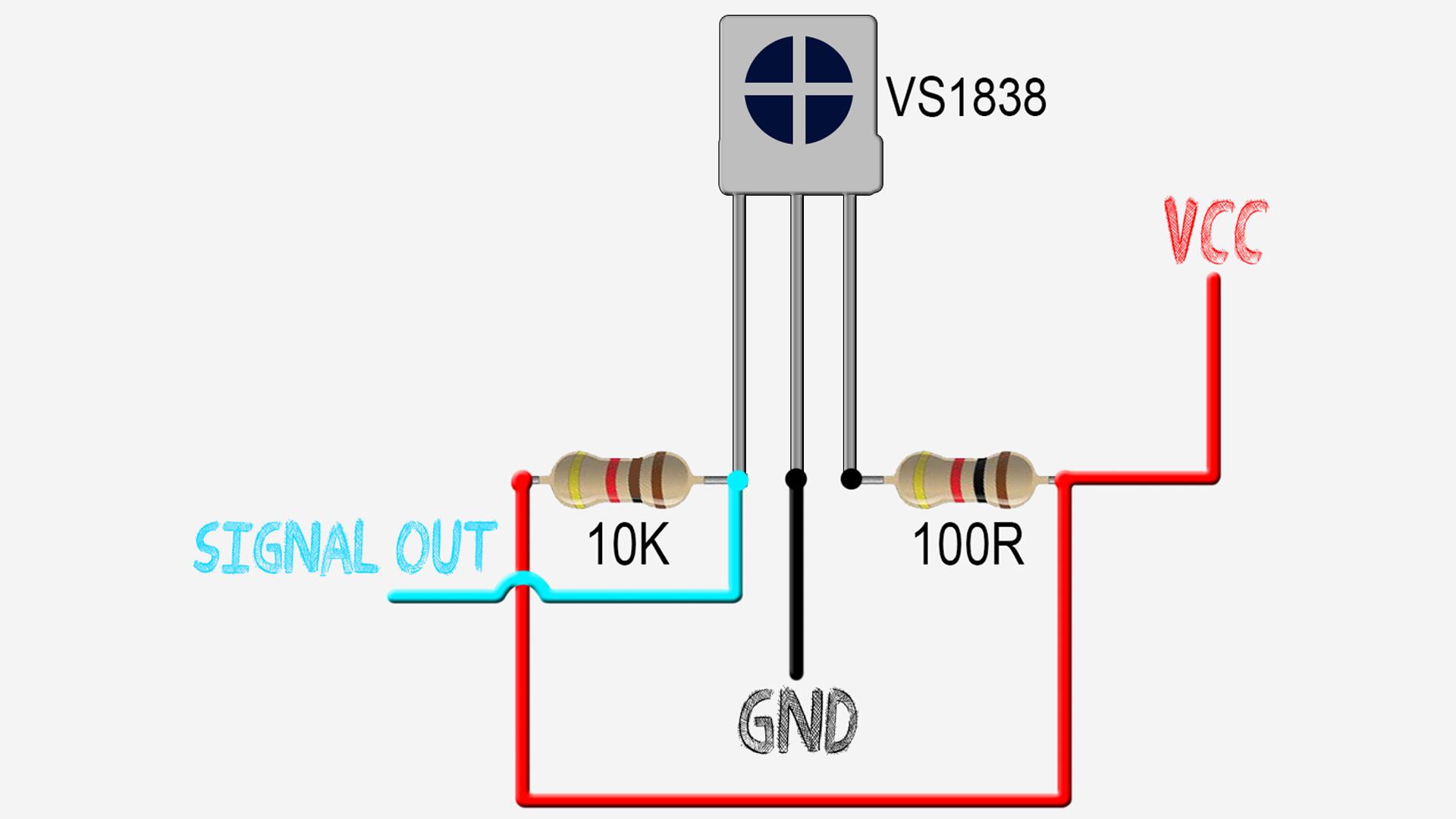 VS1838 Arduino IR remote