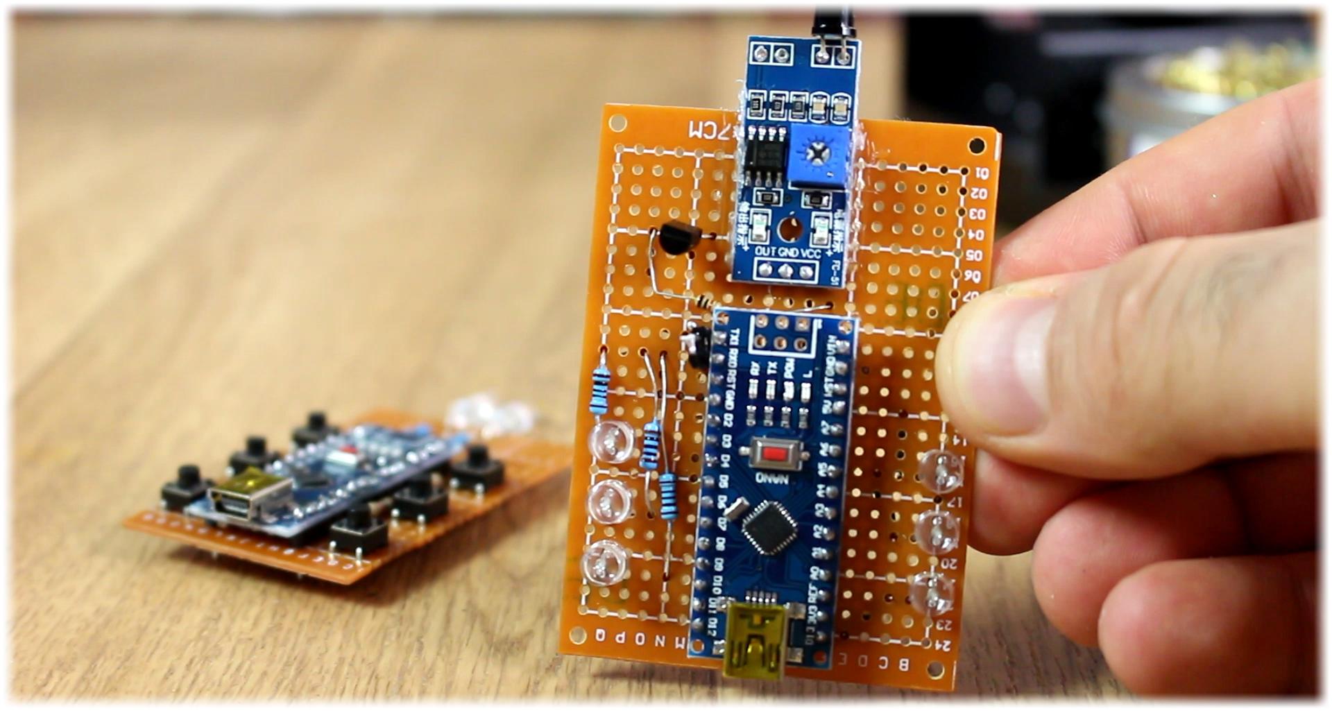 Homemade Arduino Ir Remote Infrared Receiver Circuit Schematic Diy