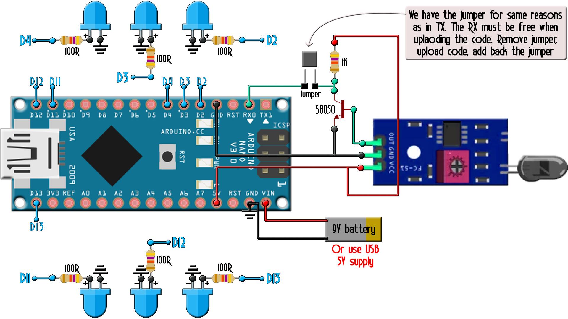 Homemade Arduino IR remote