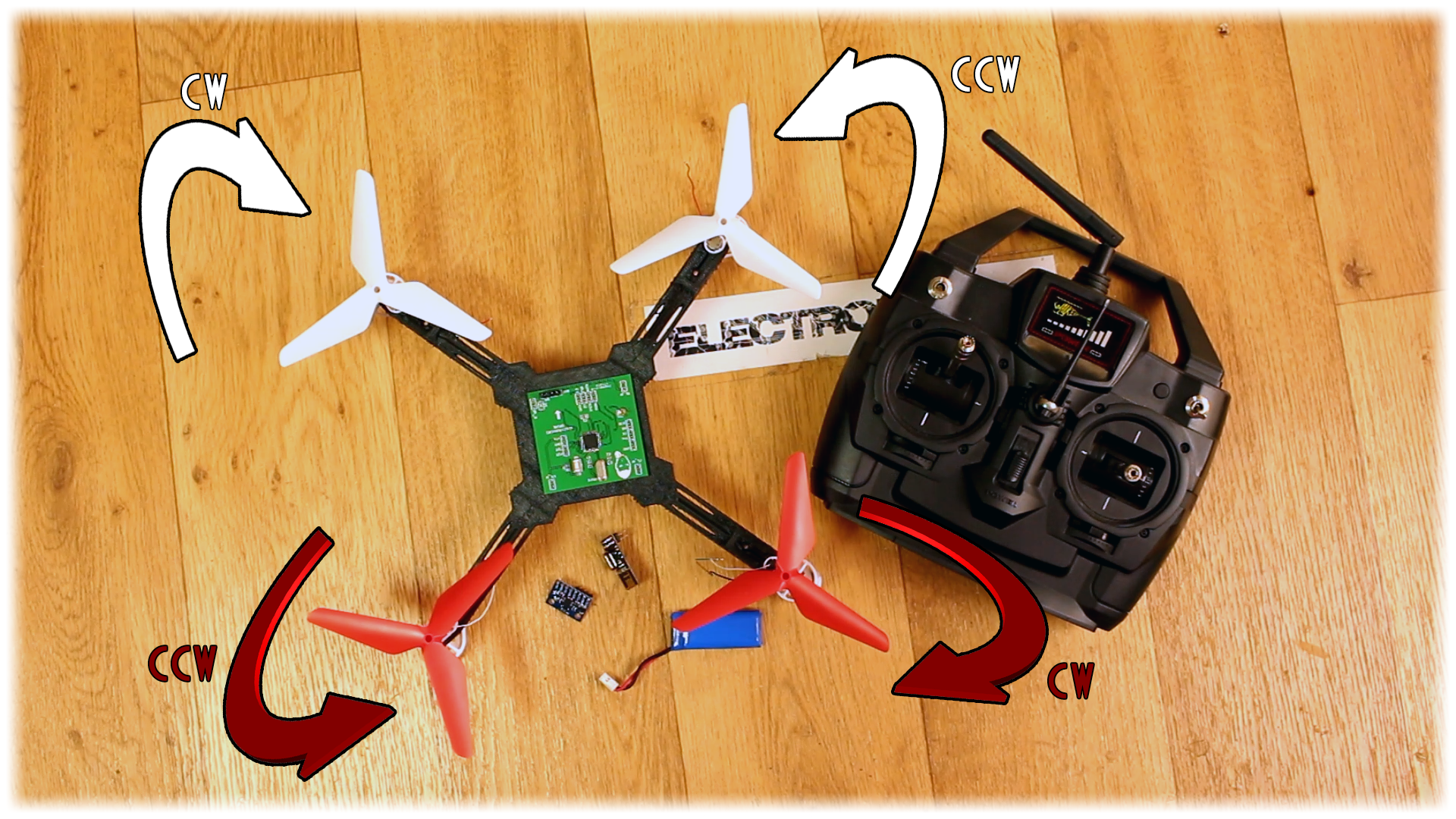 cheap DIY drone DC
