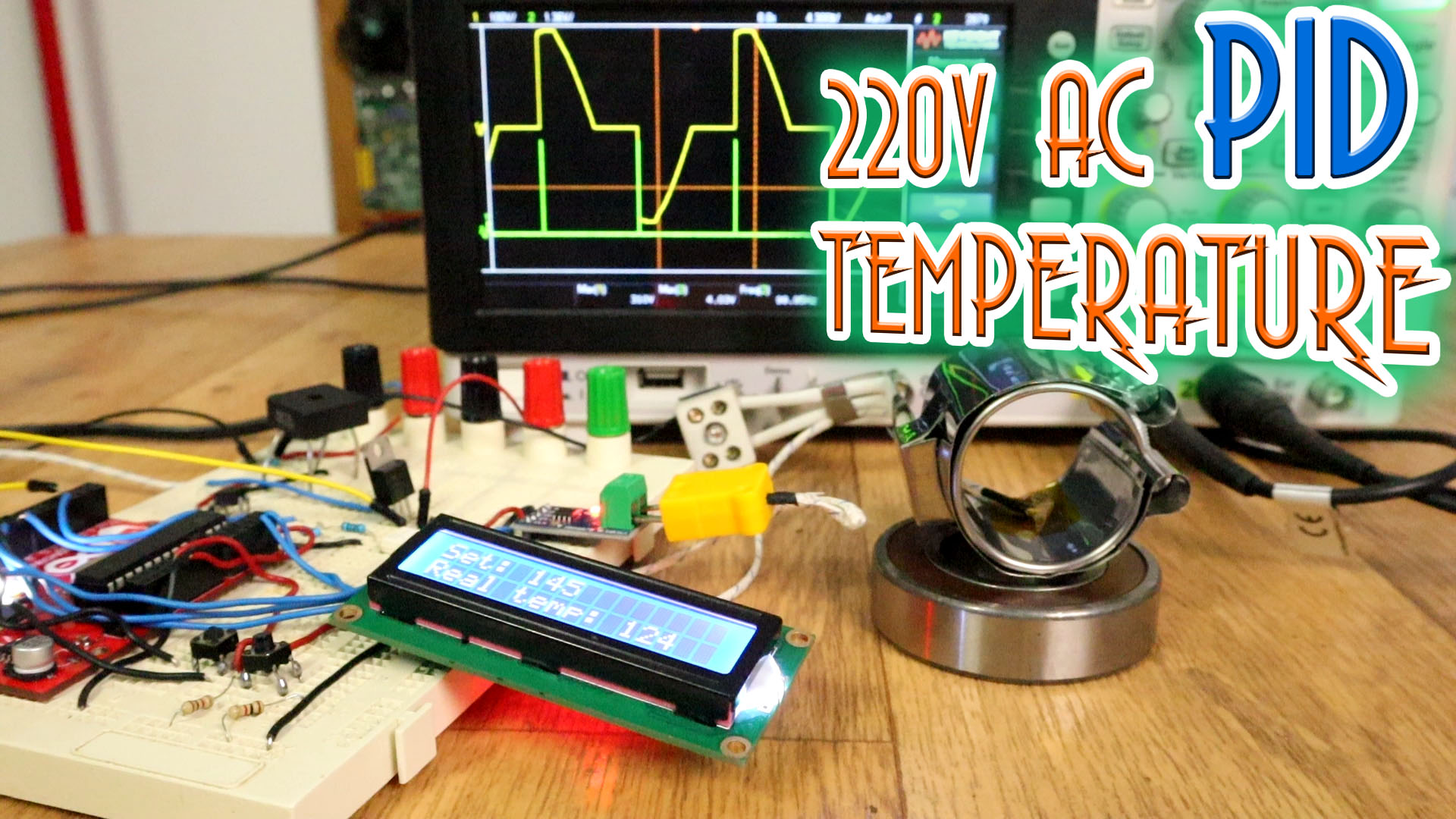 220v Ac Triac Pid Temperature Termocouple Circuit Controlled Automatic Voltage Stabilizer Electronic