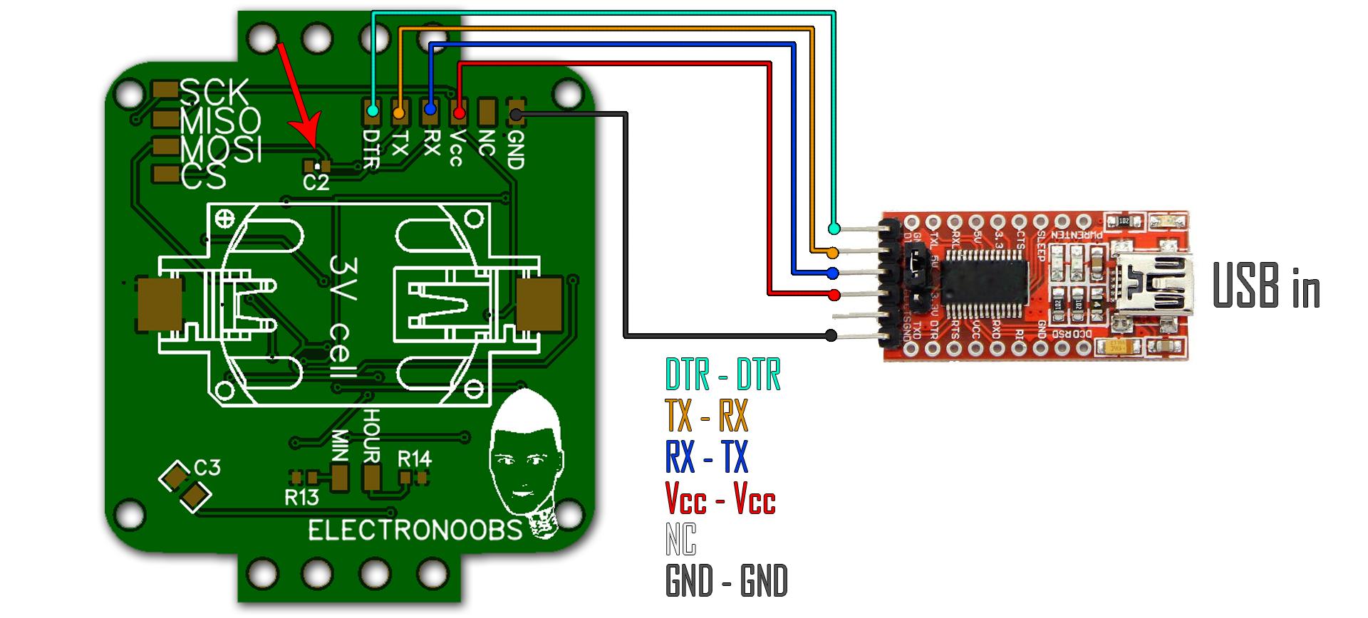 ATmega328p-AU bootloader 8MHz internal clock