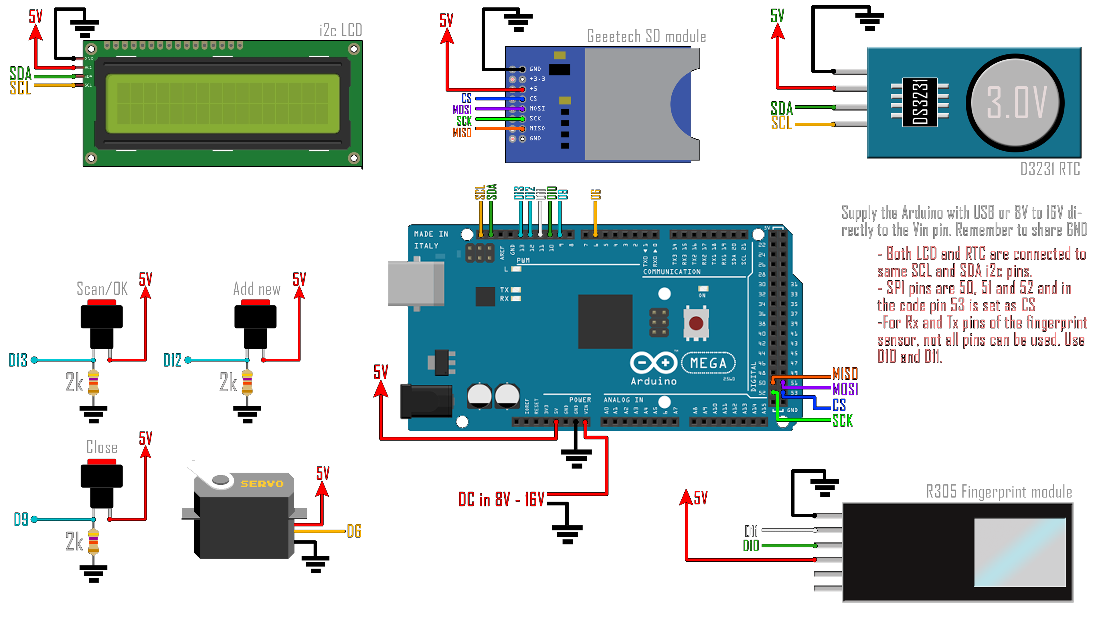 arduino door lock fingerprint