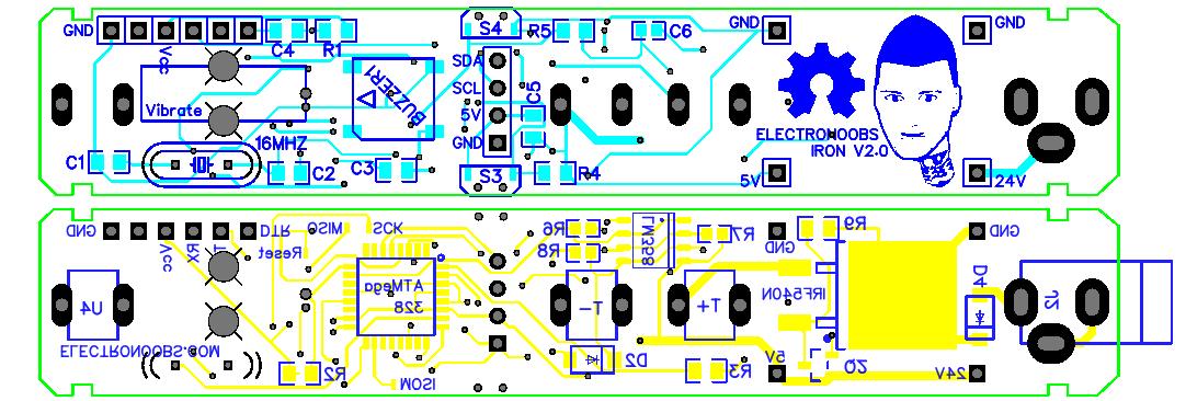 Arduino soldering iron homemade OLED