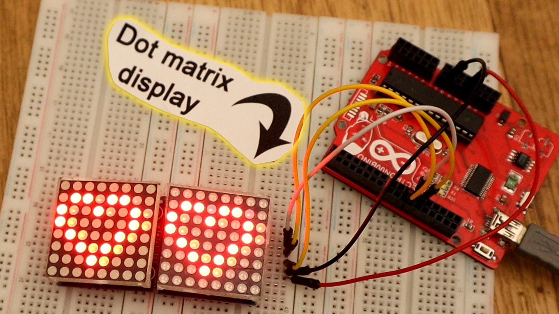 Arduino Tutorials Begginers Advanced Easy Basic Arduino7segmentleddisplaycircuitpng Using The Max7219 Driver We Could Control A Dot Matrix Display Or 8 Segments Displays In This Case Show Text Any Other Figure On An 8x8 Led