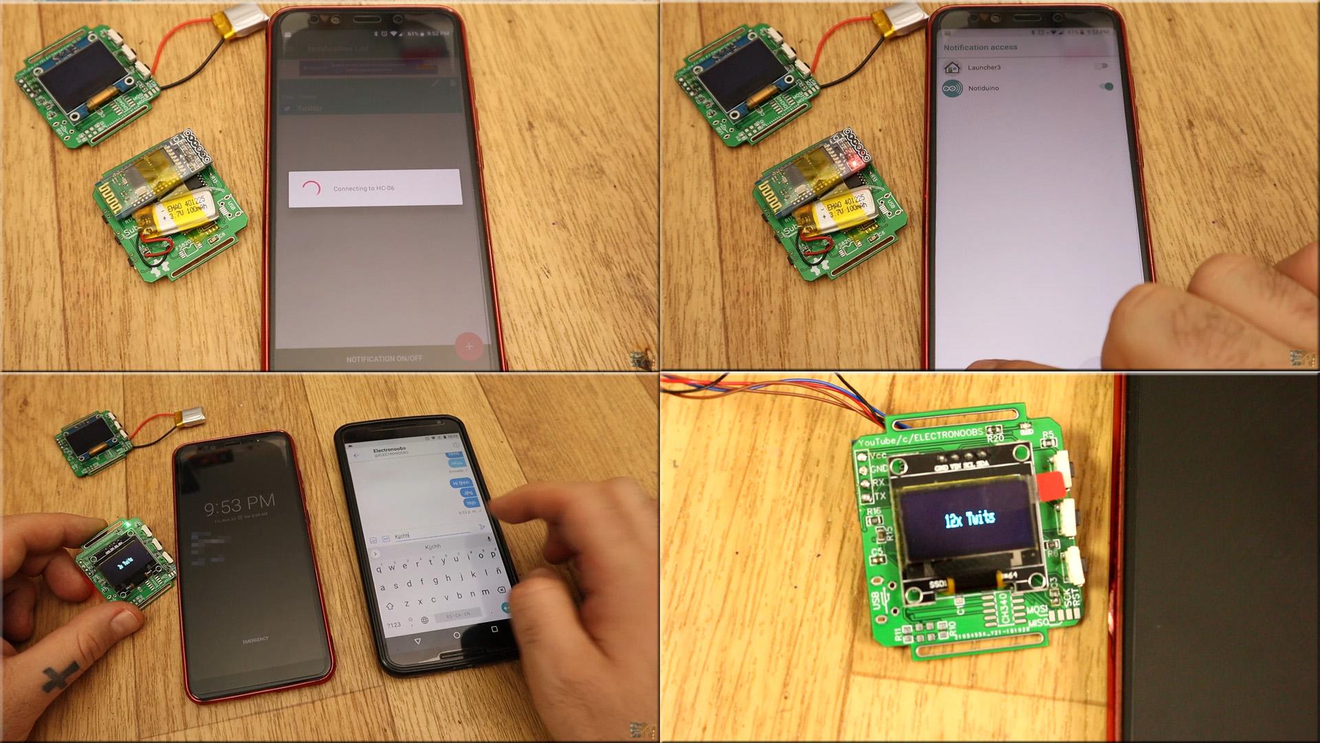 Arduino smartwatch homemade DIY tutorial