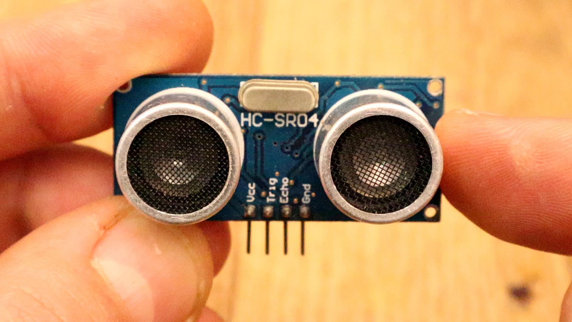 Ultrasonic Sensor HC-SR04 and Arduino Tutorial