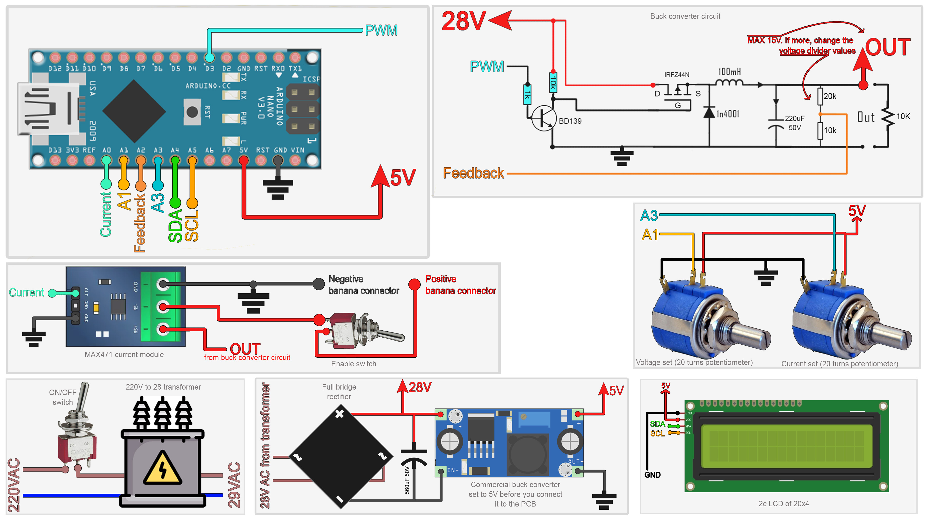 schematic arduino pwoer supply circuit