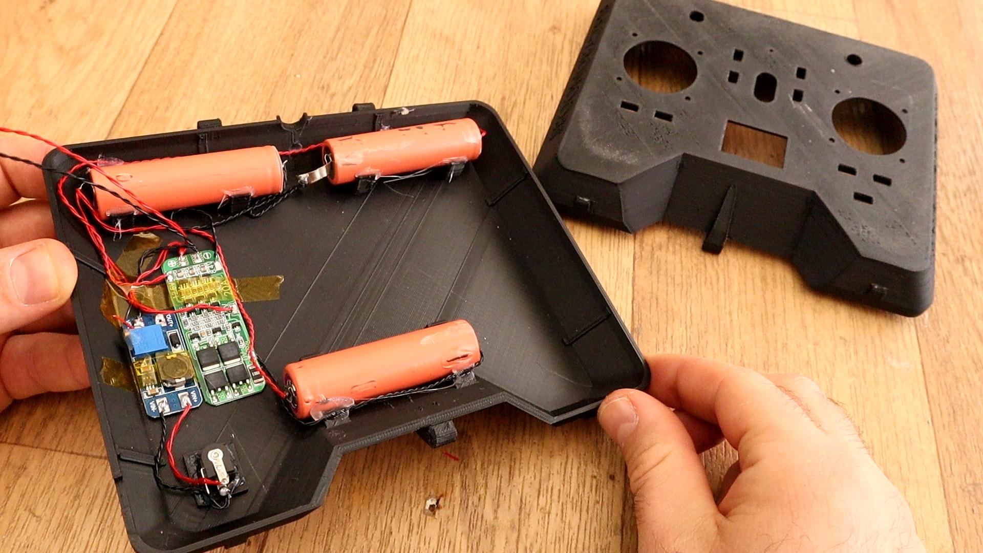3D printed PLA radio controller tutorial