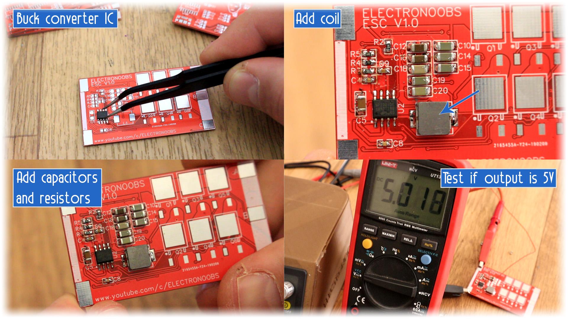 Open source ESC Arduino speed controller