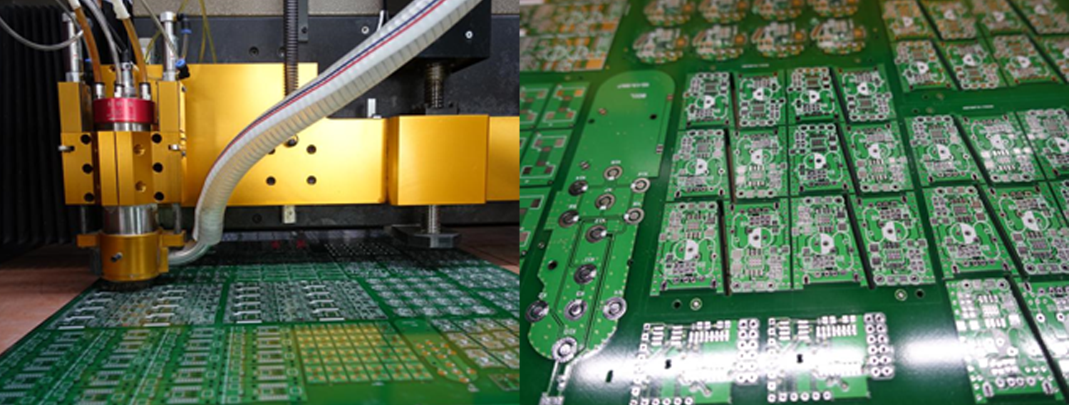 Pcb Fabrication Process In Jlcpcb Factory Testing Circuit Board We Electrically Test Every Multilayer Against The Original Data Using A Flying Probe Tester Check Each Net To Ensure That It Is Complete No