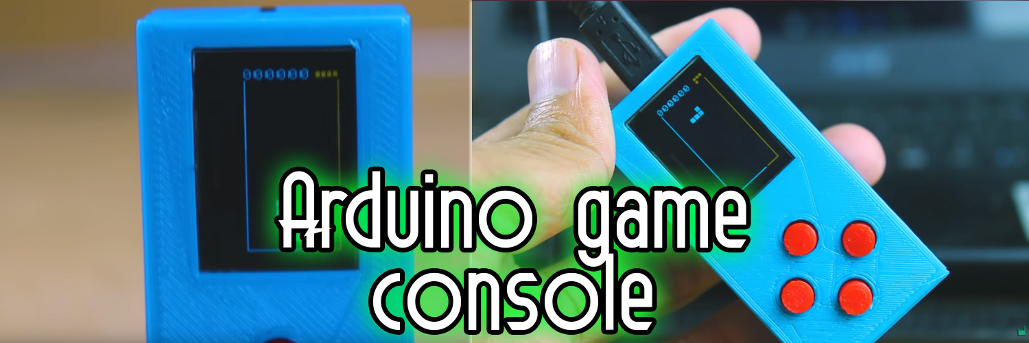 Arduino OLED game console project PCB
