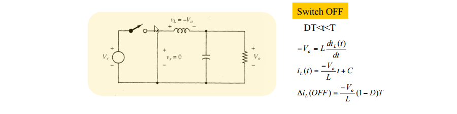 DC to DC buck converter circuit homemade arduino