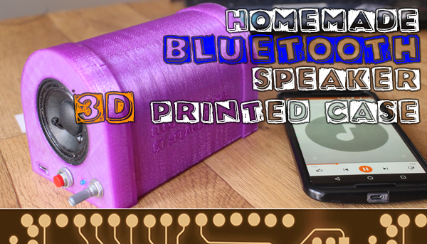 homemade bluetooth speaker portable