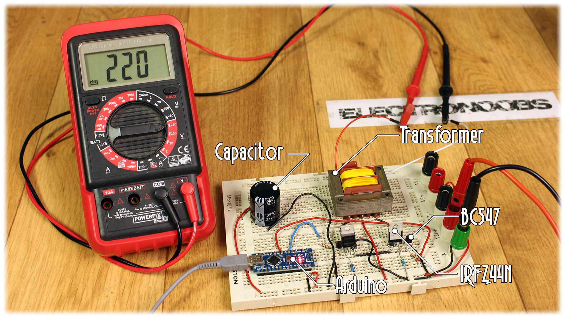 Homemade Inverter Diy Arduino 555 Timer Circuit How To Make An