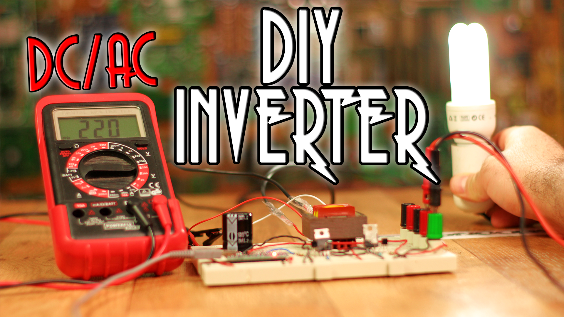 homemade inverter circuit