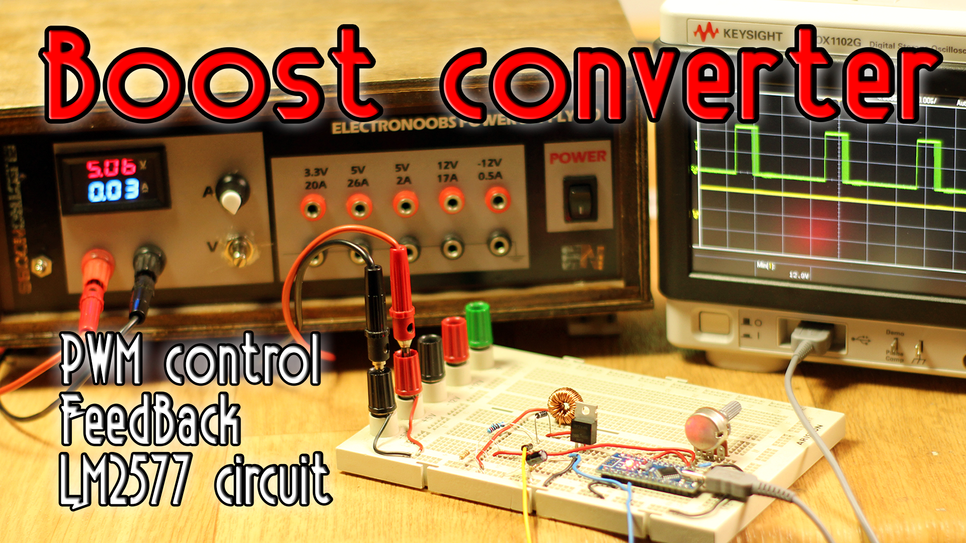 Circuits Tutorials Easy Basic Mill Etch Design Pcb Buck Boost With Output 12v Electronics Forum Projects And Lets Build A Converter We Already Seen The This Circuit Will Elevate Voltage See Arduino Feedback