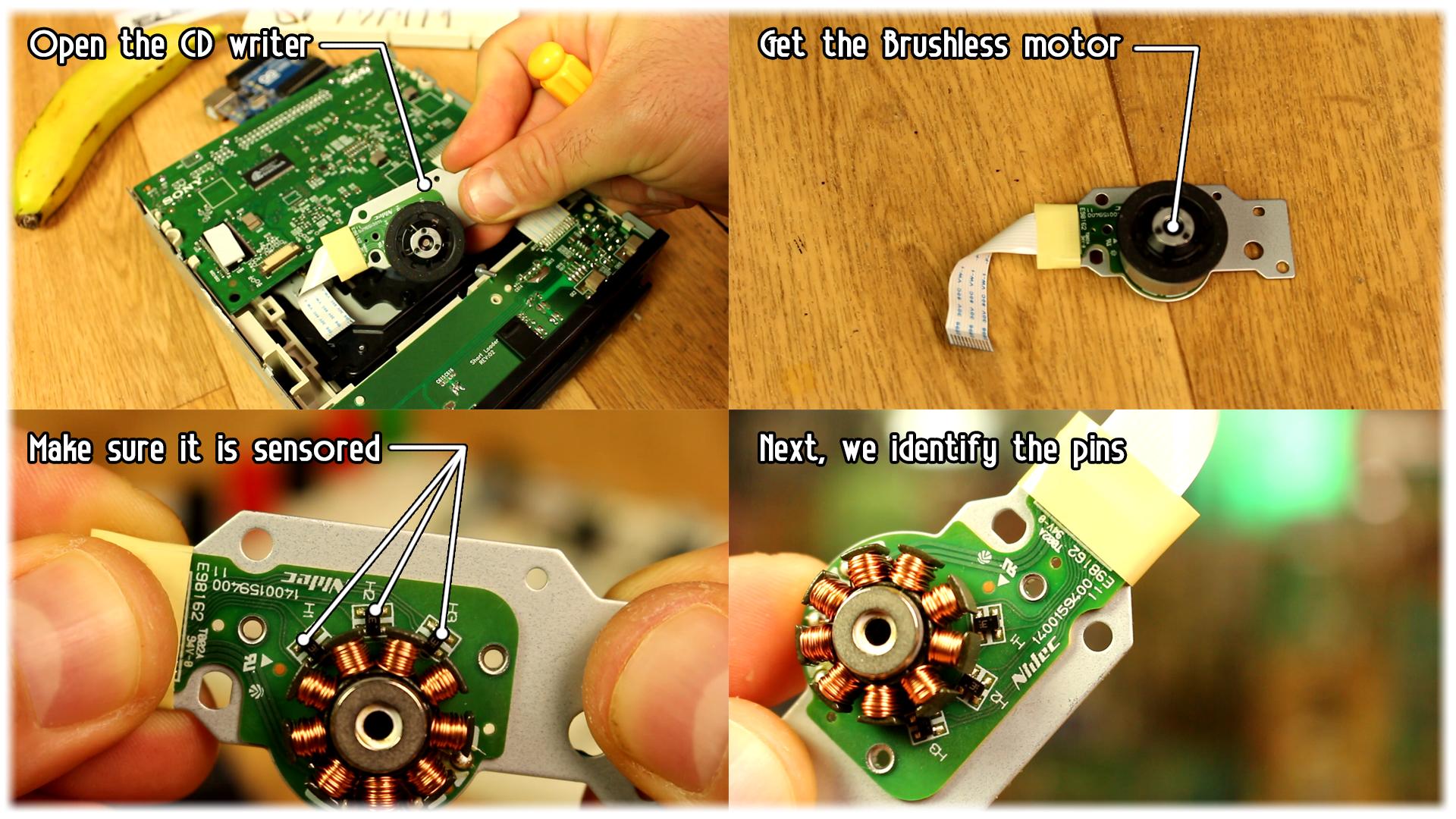 Sensored ESC circuit homemade DIY