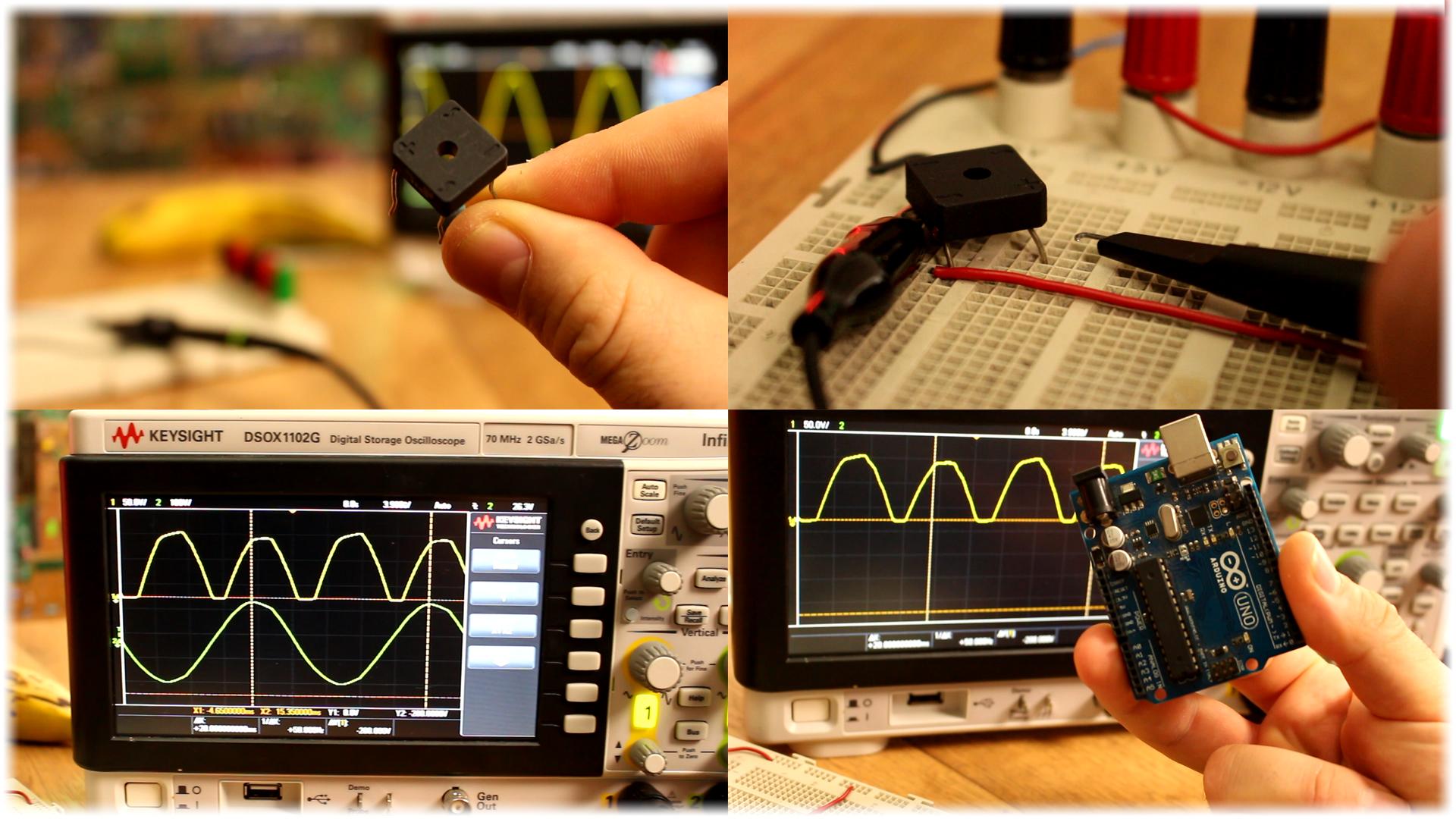 Arduino Triac Dimmer Ac Bluetooth Control Voltage Polarity Changer Full Rectifier