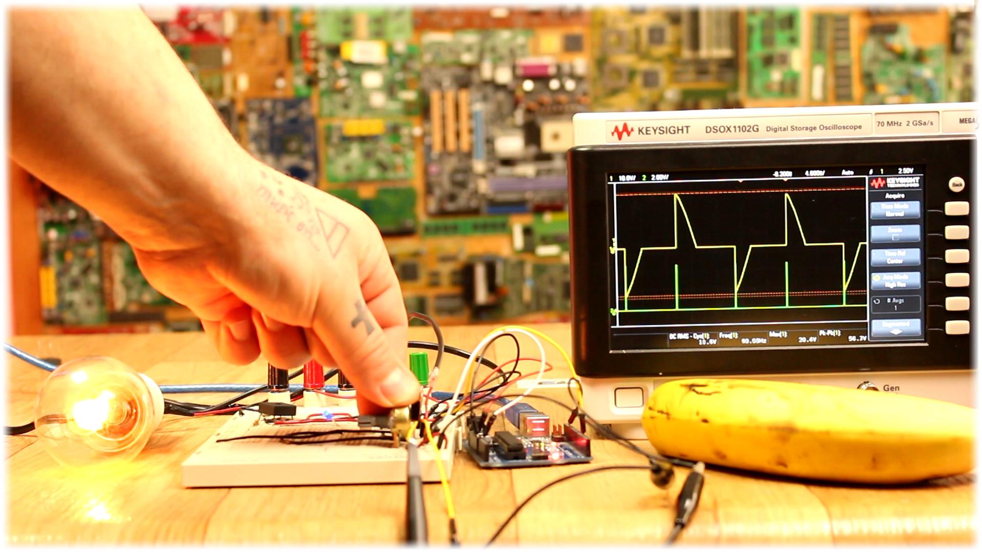 Triac Dimmer Ac Arduino Light Circuits Circuit Scr