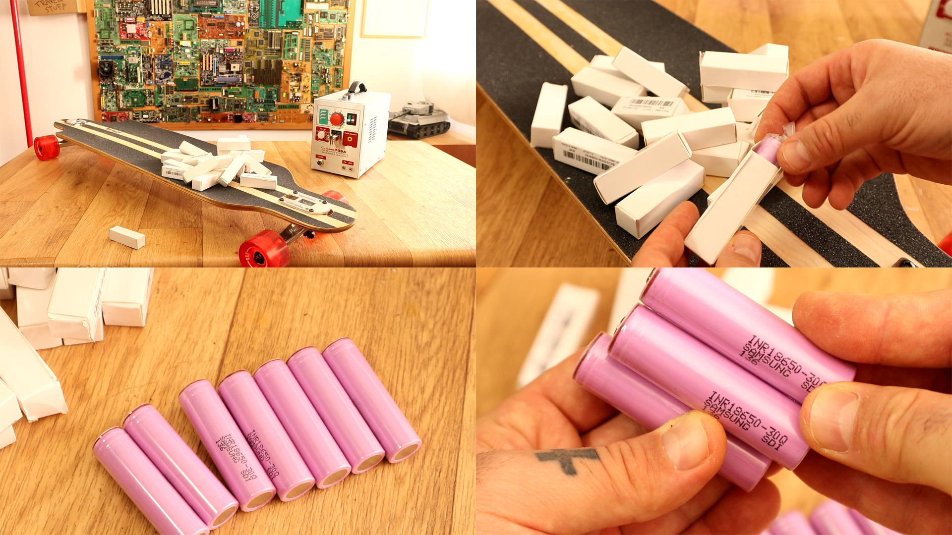 DIY Liion 6S battery pack