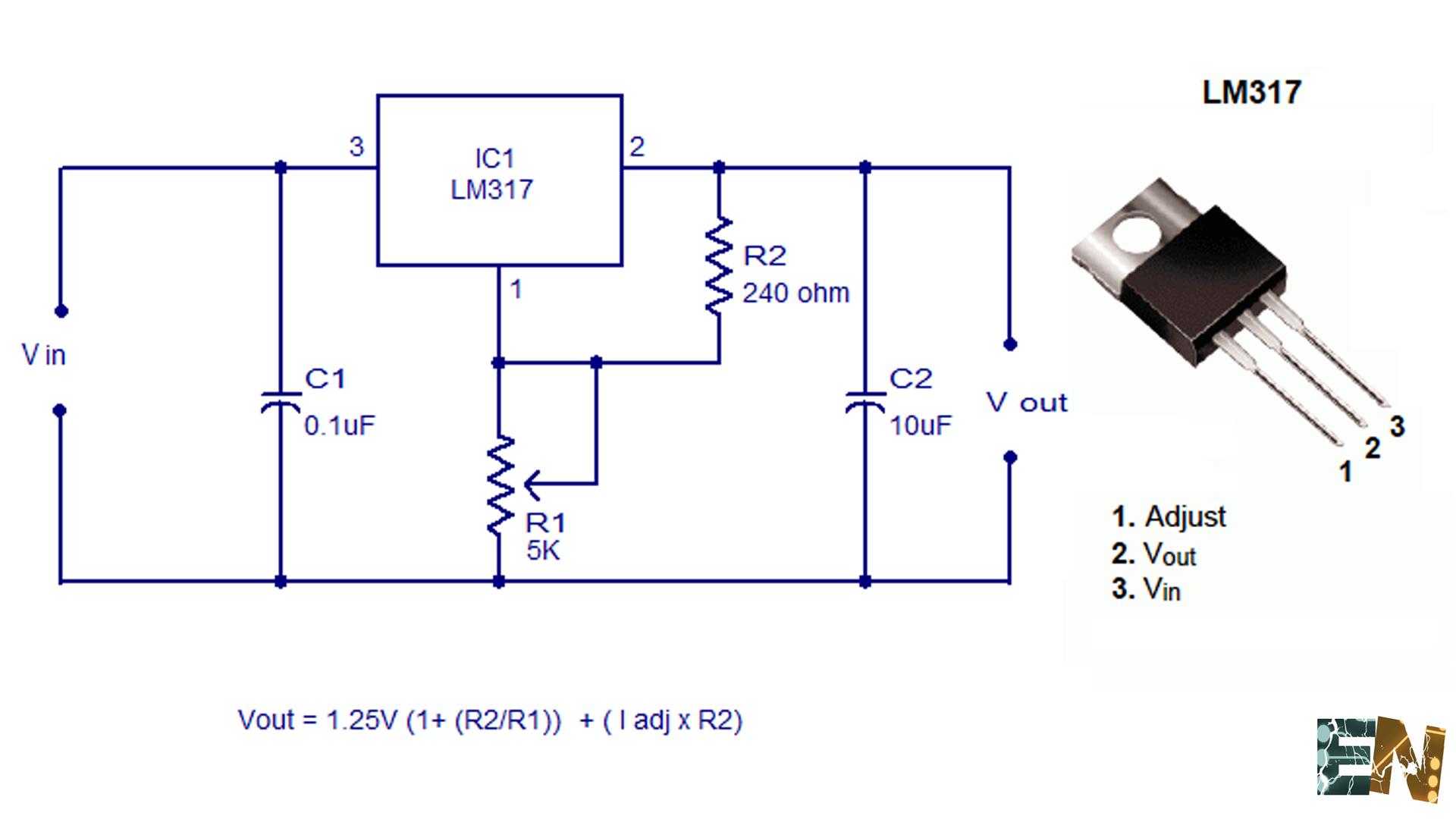 Circuito Regulador De Voltaje : Como hacer un circuito regulador de voltaje variable lesbos
