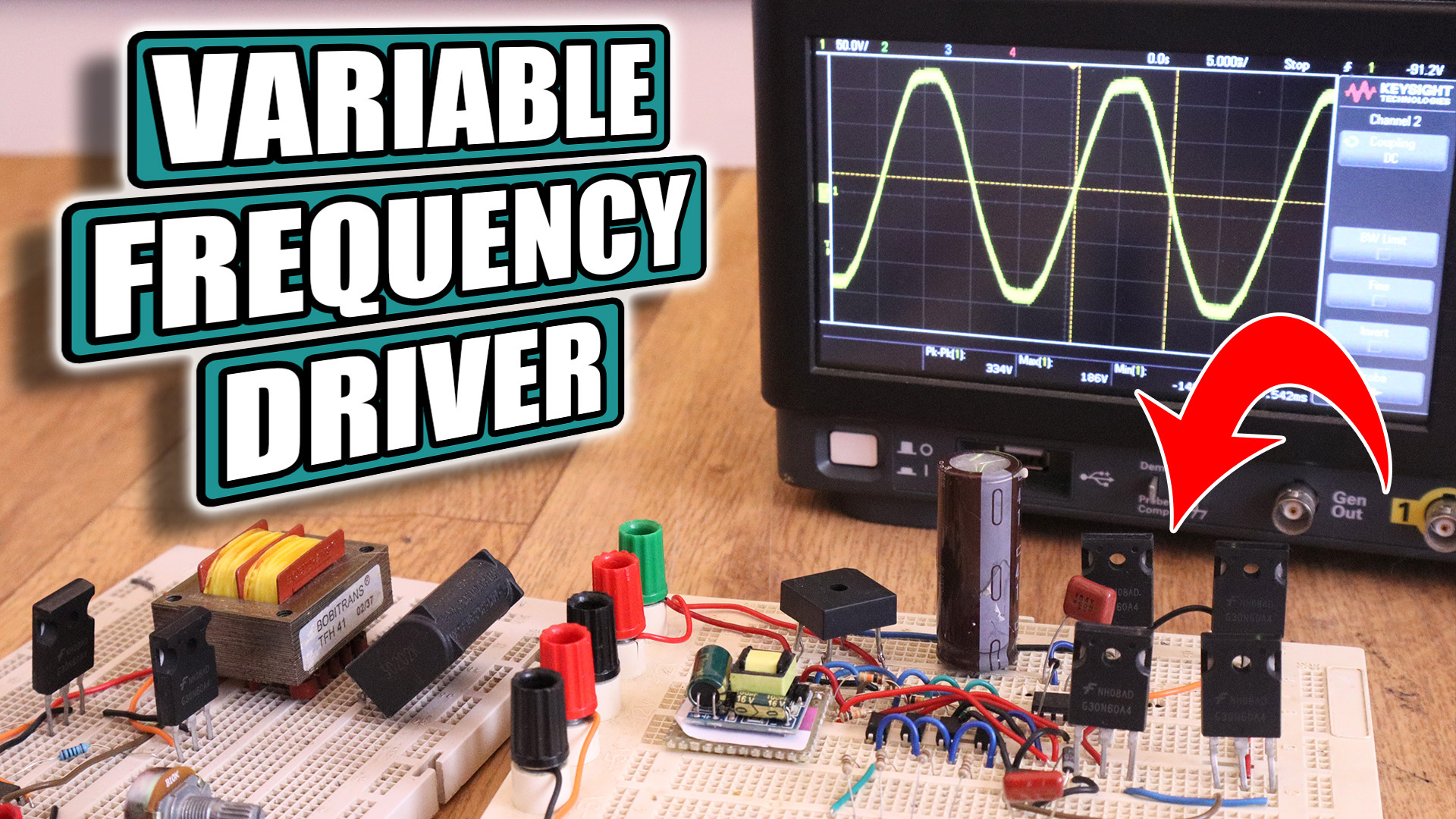 Variable Frequency Driver Prototype Vfd