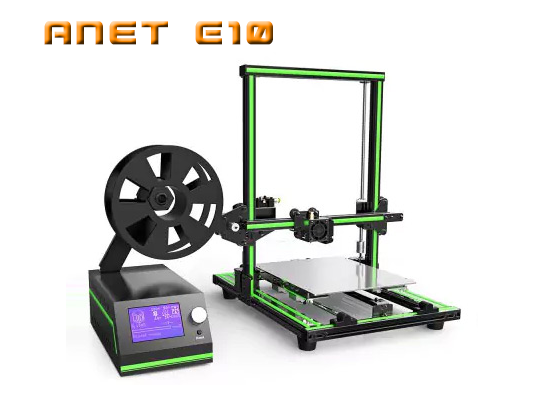 Anet E10 review assamble mounting