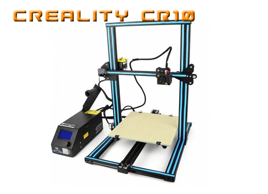 Creality CR10 review assamble mounting