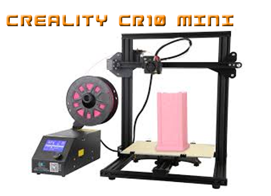 Creality CR10 mini review assamble mounting