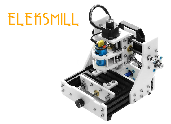 EleksMill review assamble PCB engrave