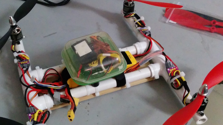 how to build a drone from scratch pdf