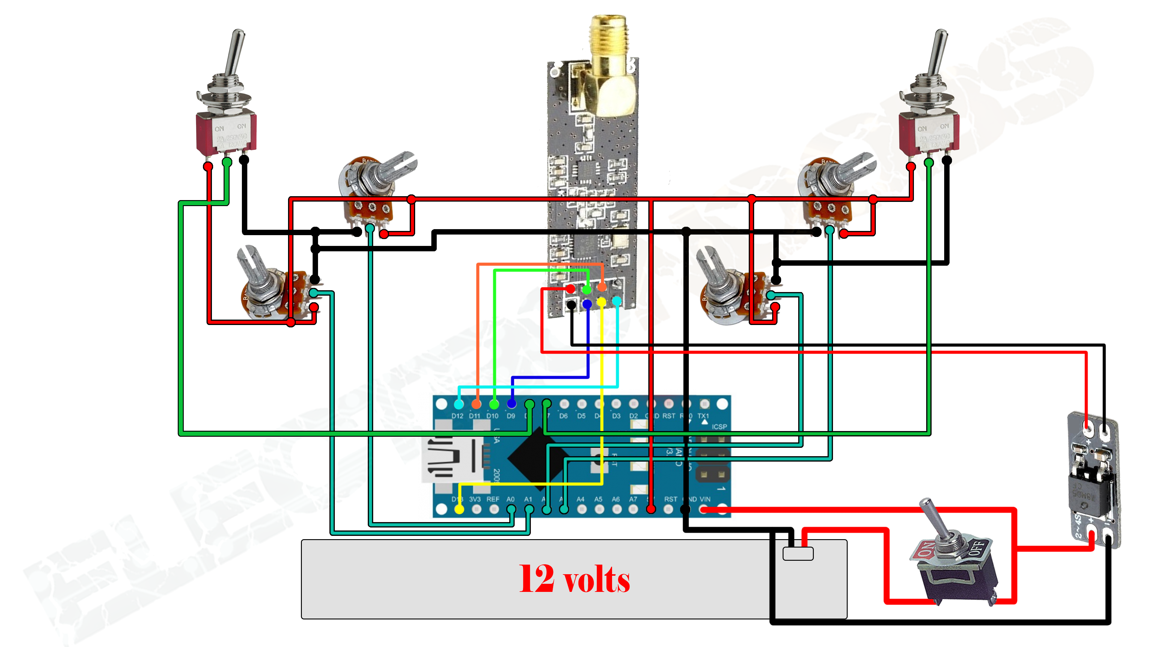 switch_schematic Quadcopter Wiring Diagram Manual on camera wiring, pid controller block, esc voltage, software flow, motor wiring,