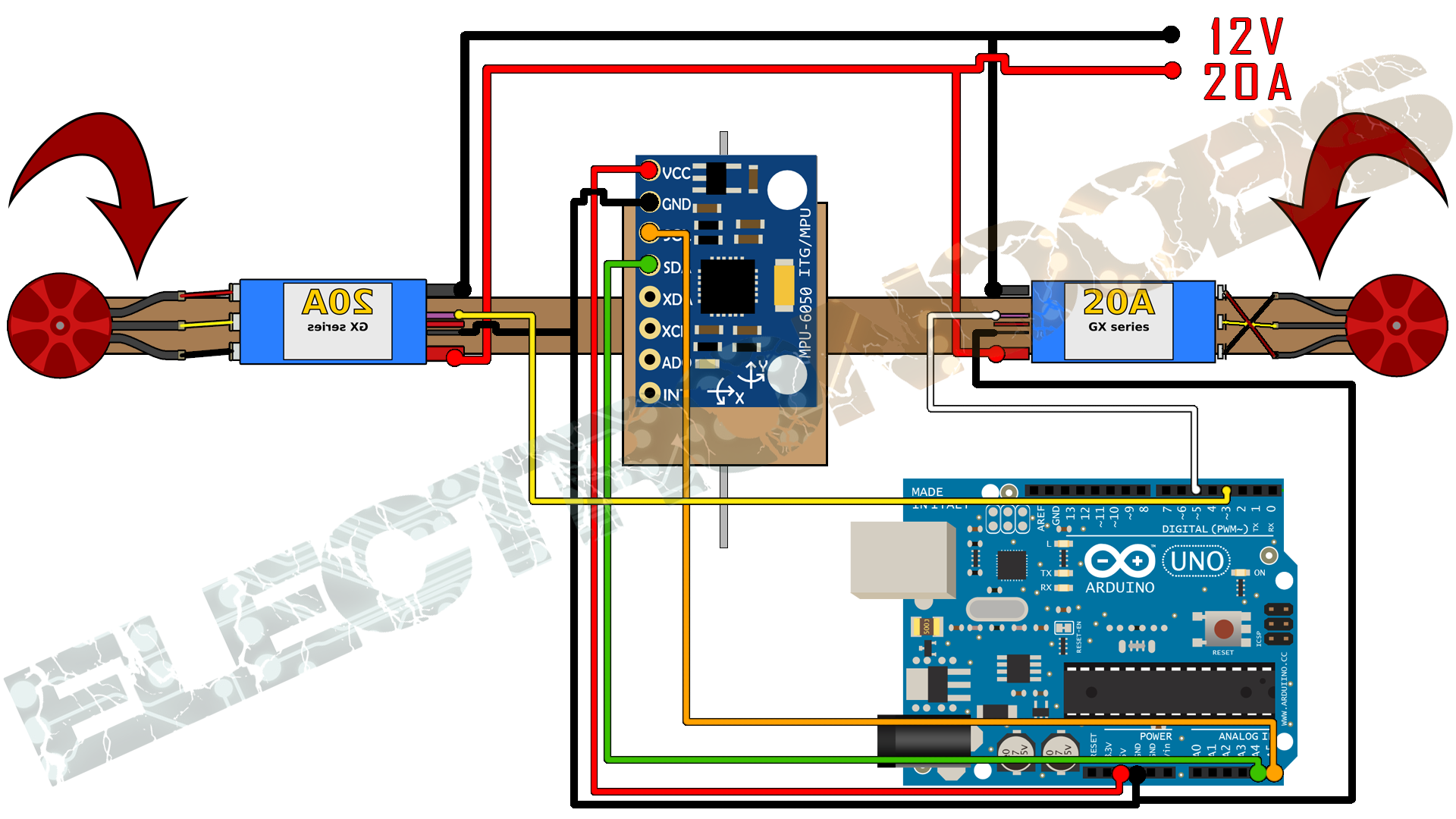 Eng robotica tut6 on bluetooth receiver schematic