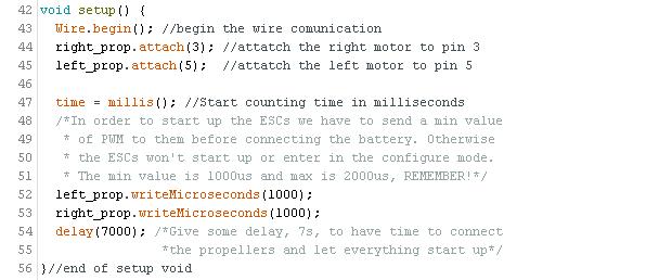 PID control arduino drones mpu6050 mpu9250 gyro