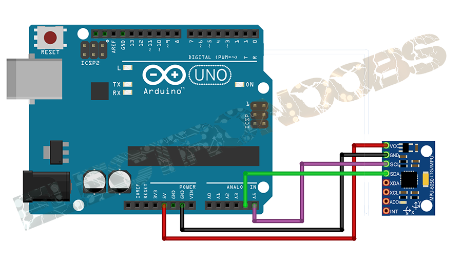 PID control arduino drones mpu6050 mpu9250 gyro accelerometer