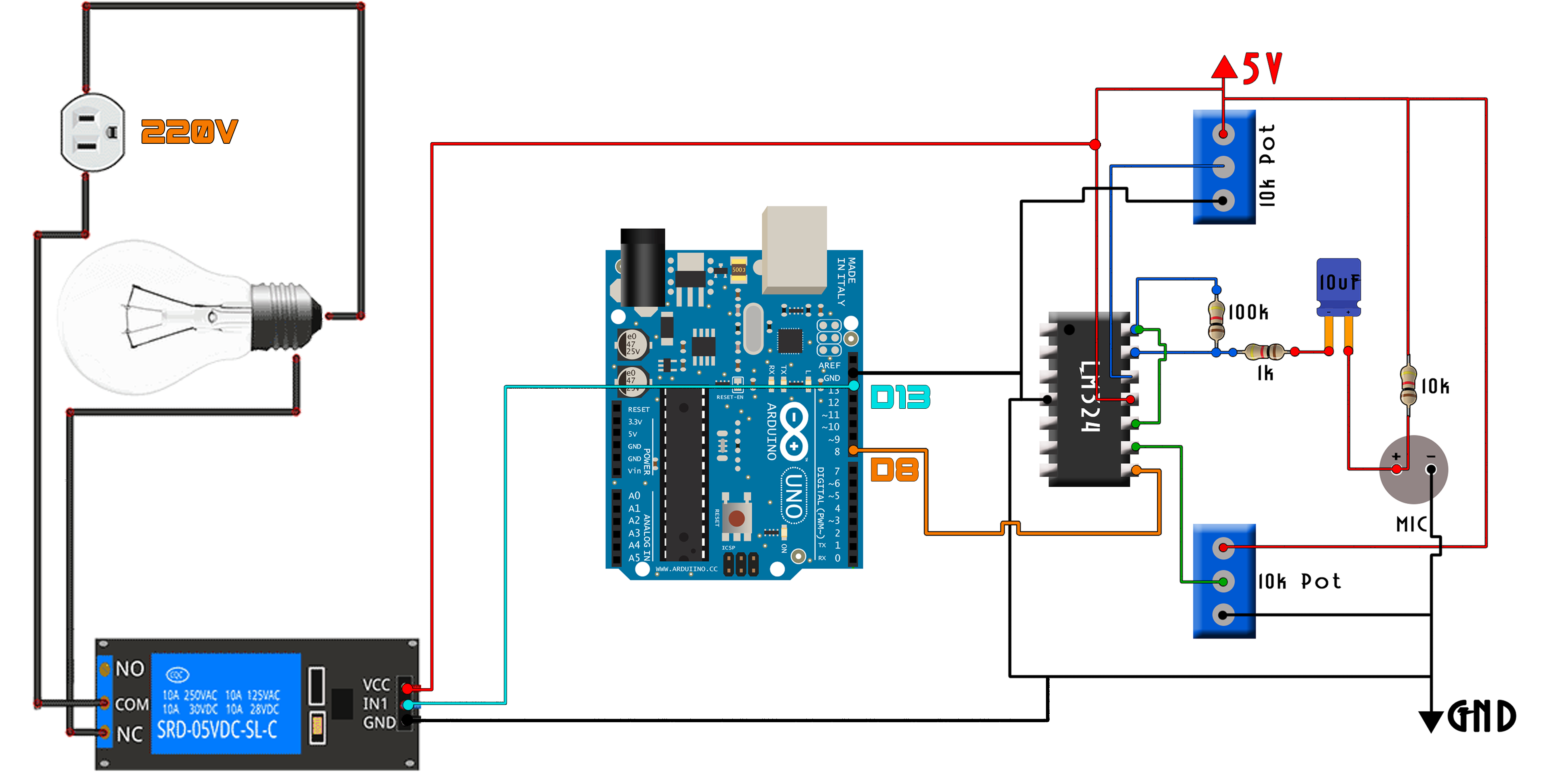 Pleasing Whistle Relay Arduino Switch Wiring Cloud Tziciuggs Outletorg