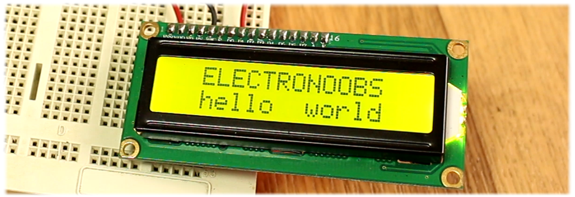 i2c LCD arduino library tutorial